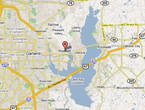 Rowlett Texas Map Business Ideas 2013